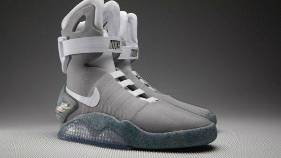 Nike skal visstnok lansere Nike Air MAG med ekte Power Laces i år. (Foto: Nike).