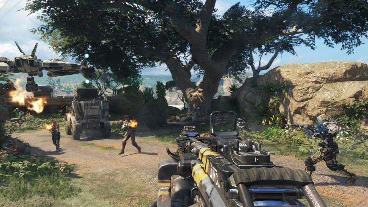 Black Ops 3 følger i godt opptråkkede stier, selv om leketøyet ser annerledes ut. (Foto: Activision)