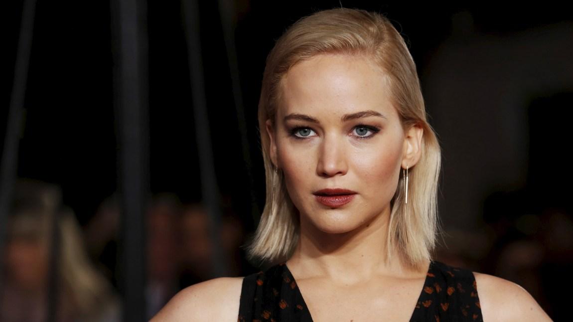 Jennifer Lawrence er klar for Passengers, hvor hun skal spille mot Chris Pratt.  (Foto: REUTERS/Luke MacGregor)