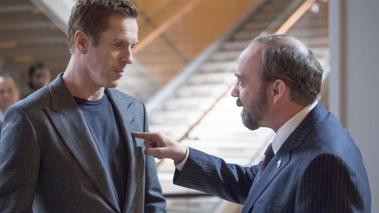 Billions er en maktkamp mellom to alfahanner, spilt av Damian Lewis og Paul Giamatti. (Foto: HBO Nordic).