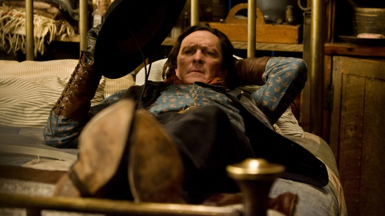 Tarantino-favoritten Michael Madsen spiller cowboy i The Hateful Eight (Foto: © 2015 L. Driver Productions, Inc. All Rights Reserved).
