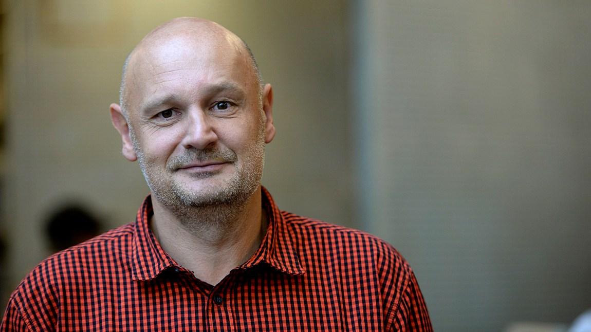 """Erlend Loe i forbindelse med lanseringen av TV-serien """"Kampen for tilværeslen"""". (Foto: Vidar Ruud / NTB scanpix)"""