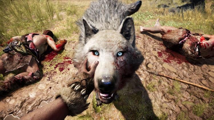 Noe av det beste med Far Cry Primal er at du kan temme ville dyr. Bare se på denne karen (Foto: Ubisoft).