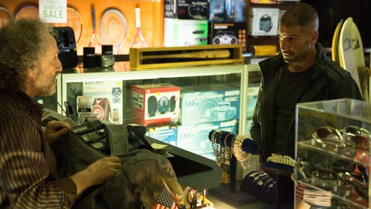 Jon Bernthal er strålende som The Punisher i andre sesong av Daredevil. (Foto: Patrick Harbron/Netflix).