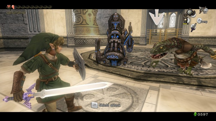 Kampsystemet i The Legend of Zelda: Twilight Princess HD er godt. (Foto: Nintendo).