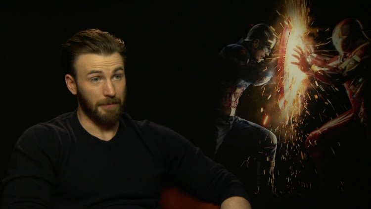 Chris Evans intervjues av NRKs Espen Aas i London (Foto: NRK).
