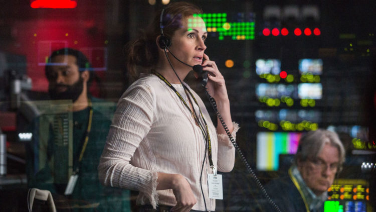 Julia Roberts spiller tv-produsenten Patty i Money Monster (United International Pictures).