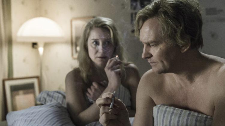 Ekteparet Erik (Ulrich Thomsen) og Anna (Trine Dyrholm) får problemer i Kollektivet (Foto: AS Fidalgo).