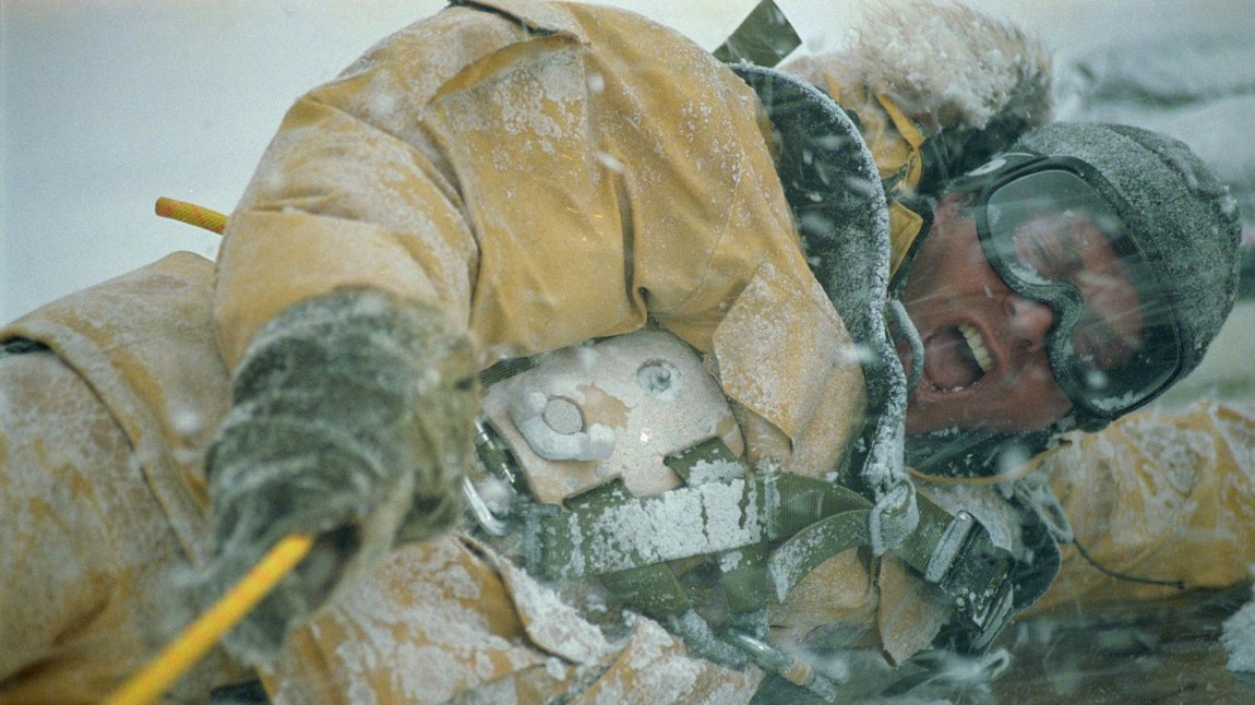 Klimaet tar hevn på menneskene i The Day After Tomorrow. (Foto: 20th Century Fox)