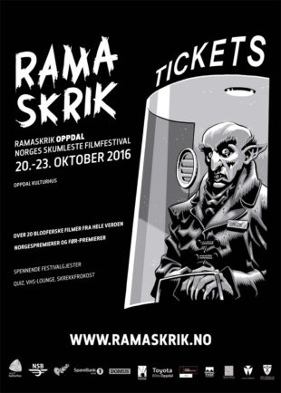 Plakaten for skrekkfilmfestivalen Ramaskrik i Oppdal. (Foto: Ramaskrik)