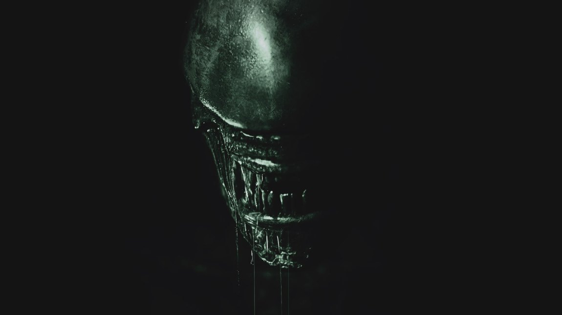 Plakaten er av den ikoniske sorten for Alien: Covenant. (Foto: Twentieth Century Fox Norway)