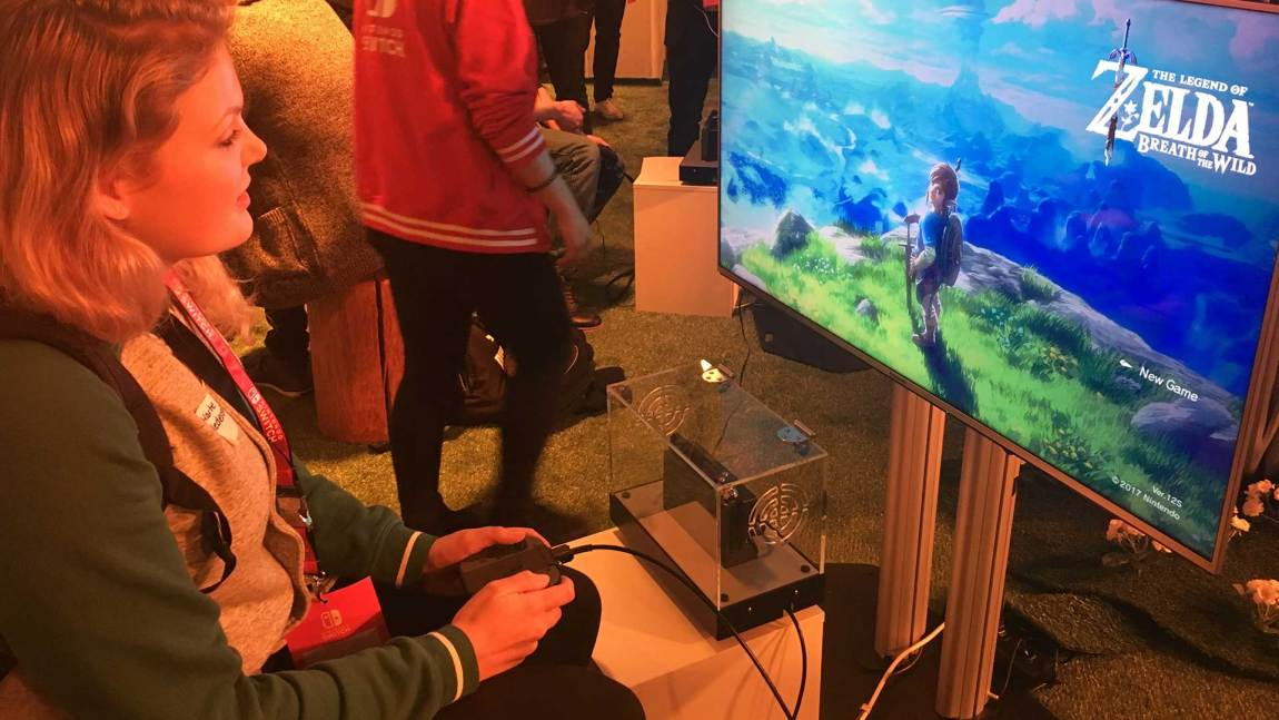 Demoen for The Legend of Zelda: Breath of the Wild var de 20 første minuttene av spillet. (Foto: NRK P3).