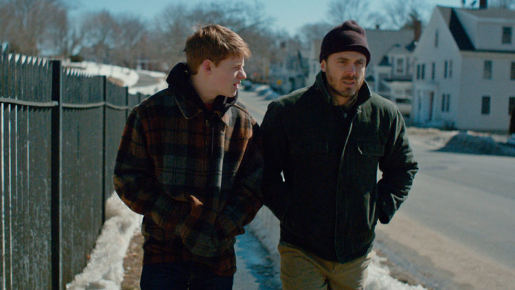 Godt samspill mellom Lucas Hedges og Casey Affleck i Manchester by the Sea. (Foto: United International Pictures)