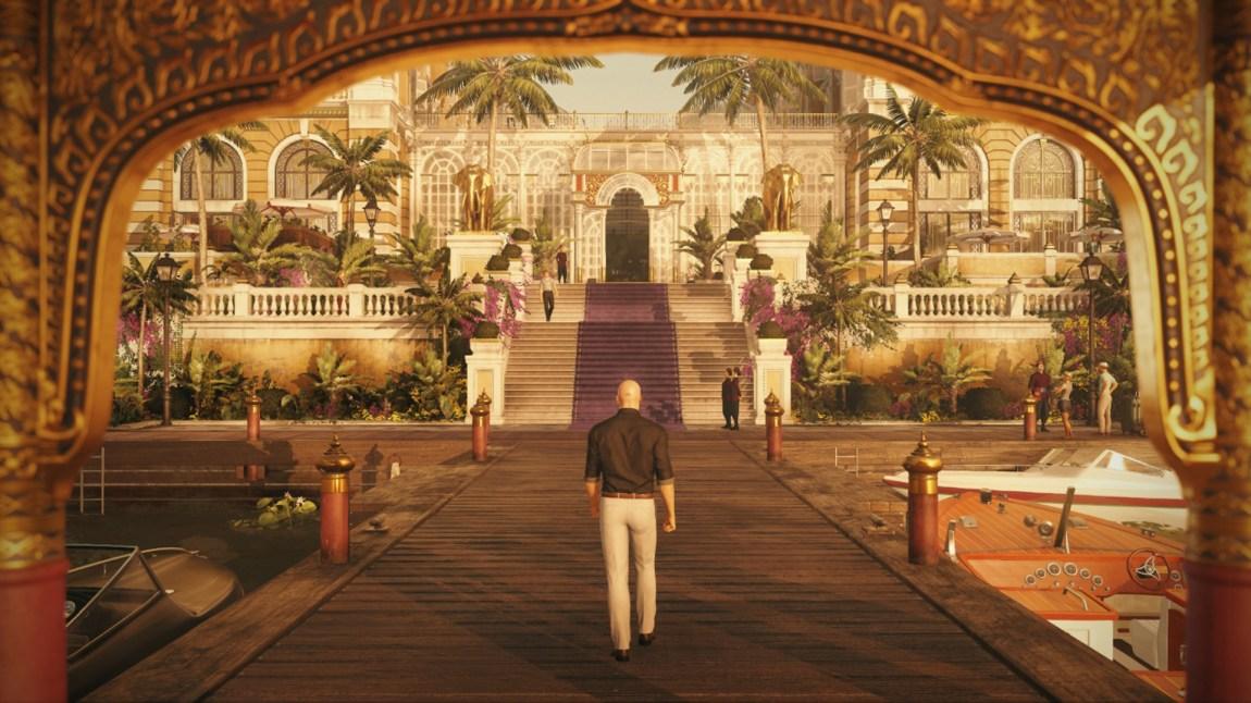 Et Thailandsk luksushotell er bakteppe for et av oppdragene i spillet. (Foto: Square Enix).