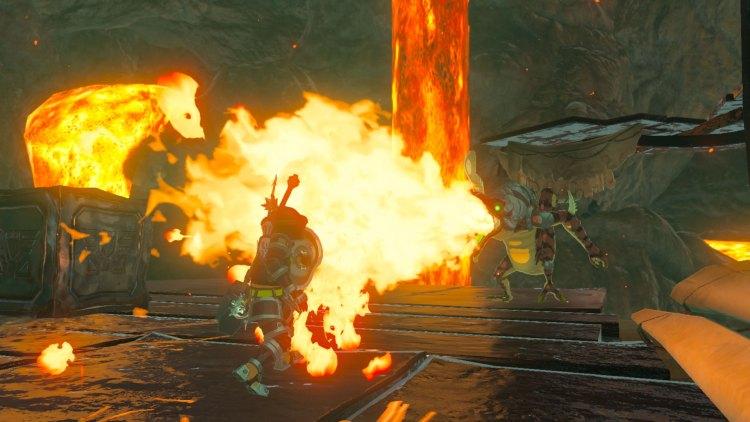 Det er viktig å ha det rette utstyret og hjelpemidlene i The Legend of Zelda: Breath of the Wild. (Foto: Nintendo).
