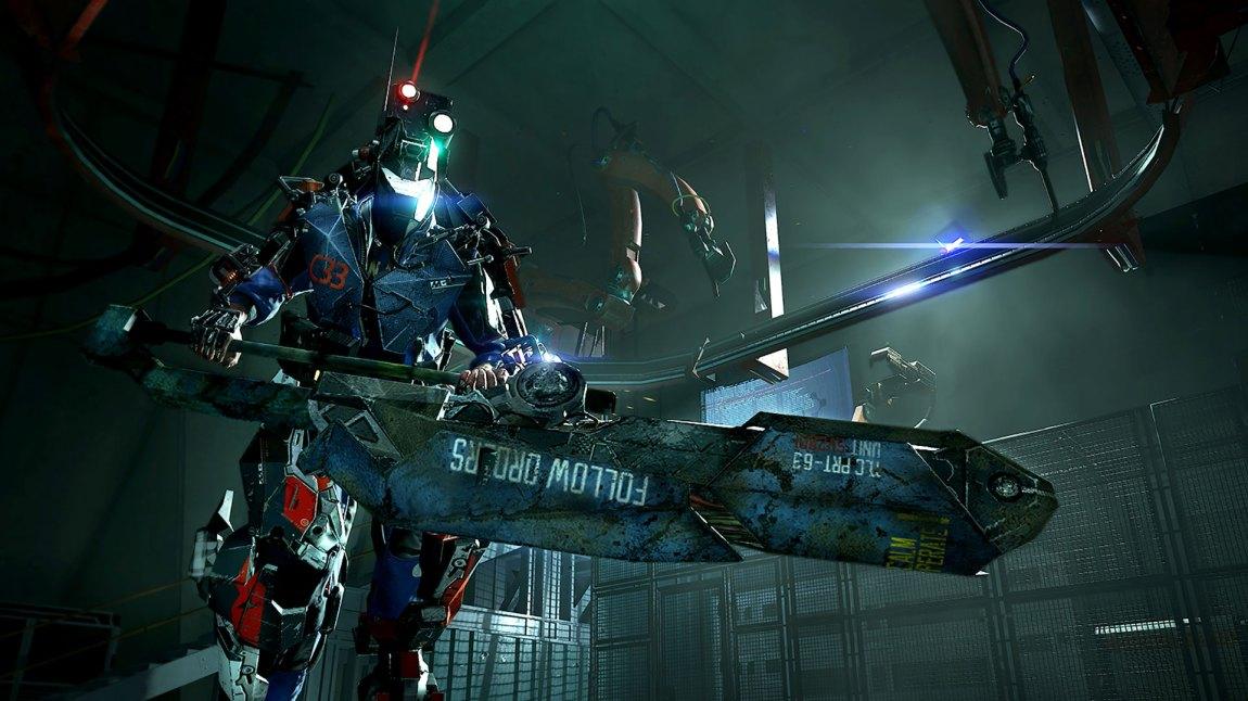 Enorme våpen er tøft. Sånn er det bare. (Foto: Focus Home Interactive)