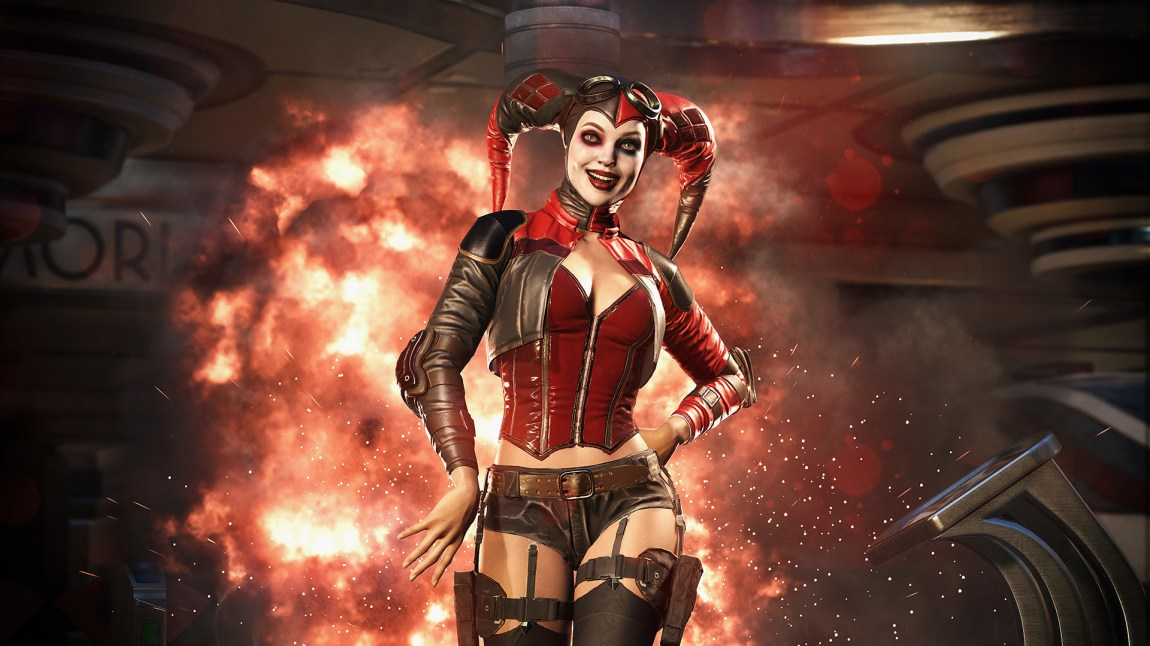 Harley Quinn er sprø som alltid. (Foto: Warner Bros. Interactive Entertainment)