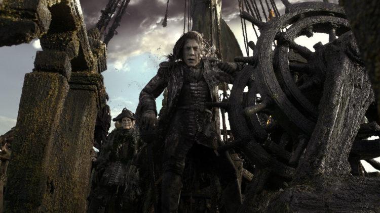 Javier Bardem spiller kaptein Armando Salazar, som har en høne å plukke med Jack Sparrow. (Foto: The Walt Disney Company Nordic)