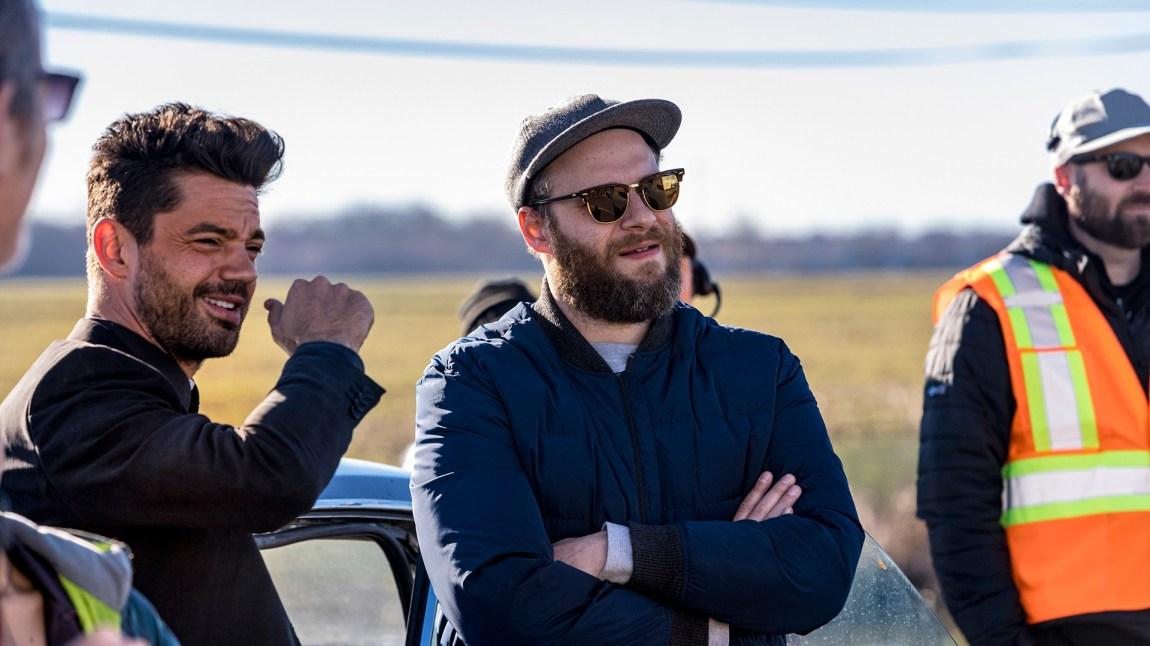 Seth Rogen har utviklet serien for tv, sammen med Evan Goldberg og Sam Caitlin.  (Foto: AMC, Viaplay)