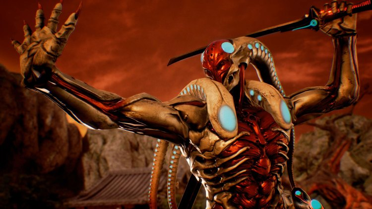 Yoshimitsu vender tilbake... som en slags blekksprut. (Foto: Bandai Namco Entertainment)