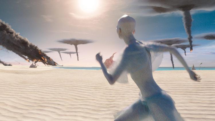 """En fremmed drømmeplanet blir utsatt for noe fryktelig i """"Valerian and the City of a Thousand Planets"""". (Foto: United International Pictures)"""