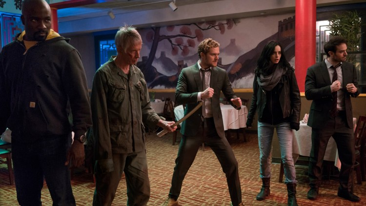 The Defenders klare for kamp. (Foto: Netflix).