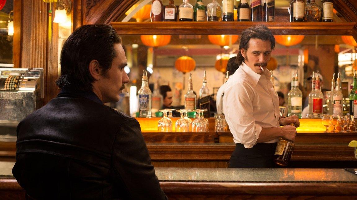 James Franco imponerer stort i sin doble rolle som tvillingene Vincent og Frankie Martino. (Foto: HBO Nordic)