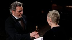 Joaquin Phoenix vant sin første Oscar