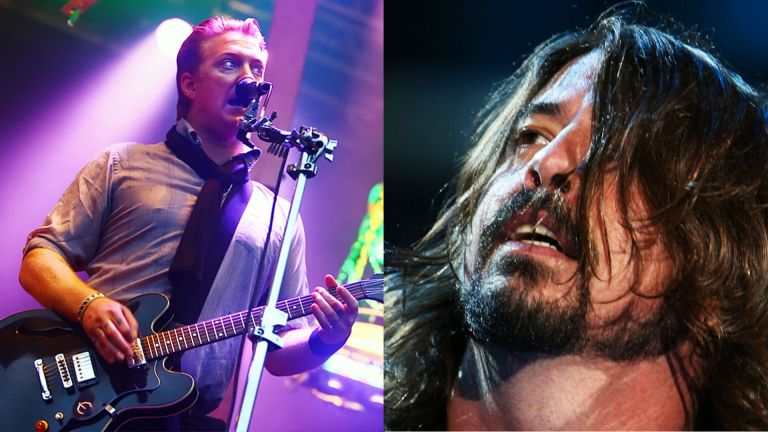 Grohl gjenforenes med Queens Of The Stone Age