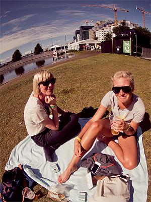 Øyafestivalen arrangeres i 2013 muligens for siste gang i Middelalderparken. Hvor festivalen befinner seg i 2014 vet arrangørene ennå ikke. Illustrasjonsfoto: Rashid Akrim, NRK P3.