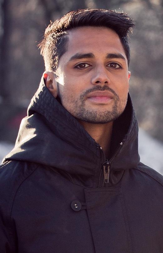 Chirag Patel i Karpe Diem er veldig fornøyd med nominasjonene til Spellemann. (Foto: Kim Erlandsen, NRK P3)