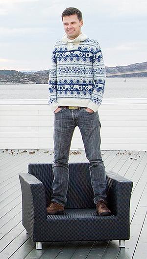Njål Wilberg er en av gründerne bak, og daglig leder for Beat.no. Foto: Eivind Senneset.