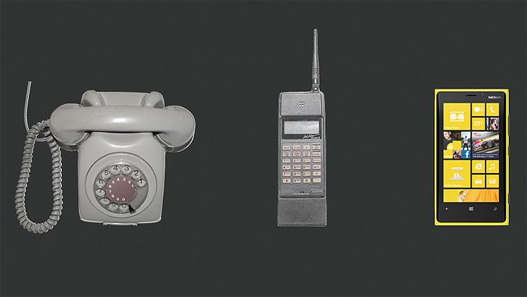 Det var først da vi fikk smarttelefonen at vi fikk den virkelig store endringen i bruken av denne teknologien. Illustrasjon: Making Waves.