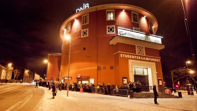 Urørtfinalen sendes direkte fra Samfundet i Trondheim (Foto: Tom Øverlie, NRK P3)