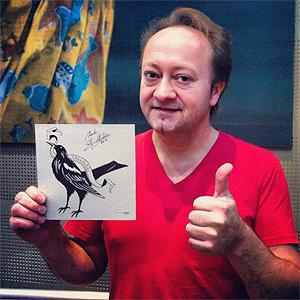 """Ackles' framføring av """"Satan"""" ble gitt ut på vinylsingle, kun i 250 eksemplarer. Foto: Freebird Records."""