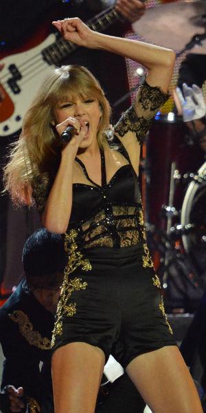 Taylor Swift. (Foto: NTB Scanpix, AFP, Ben Stansall)