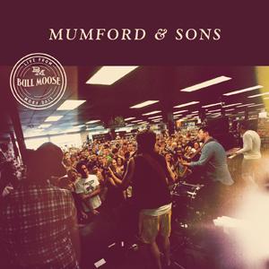 med Mumford & Sons' EP Live at Bull Moose er den mest solgte Record Store Day-utgivelsen i 2013. Foto: Promo.