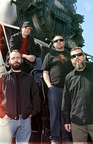 Amerikanske Clutch er for tiden aktuelle med albumet Earth Rocker som av P3-programmet Pyro blir omtalt som deres til nå beste. Foto:Promo.