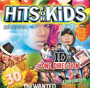 Hits For Kids selger godt og snurrer i cd-spilleren på mange barnerom. Foto: Promo.