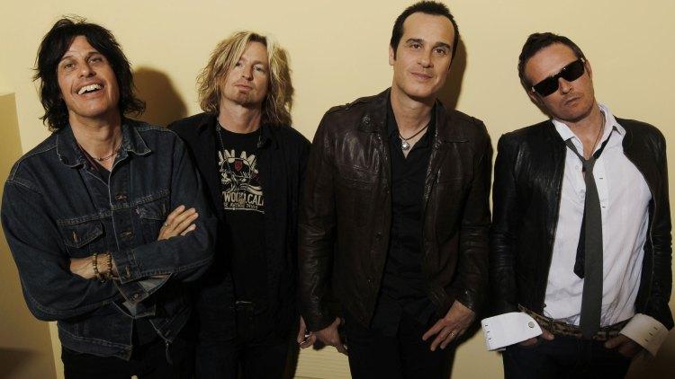 Stone Temple Pilots sammen i 2010. (Foto: AP, Matt Sayles, NTB Scanpix.)