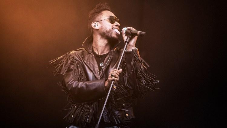 Miguel live på Hove 2013. (Foto: Tom Øverlie, NRK P3)
