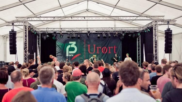 Publikum møtte opp for å høre på de håpefulle. (Foto: Tom Øverlie, NRK P3)
