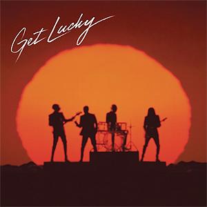 """Daft Punks """"Get Lucky"""" har vært en suksess fra dag én. Foto: Promo."""