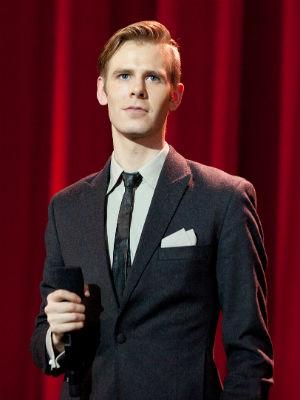 Lars Vaular på Spellemann 2012. (Foto: Tom Øverlie, NRK P3)