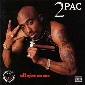 """""""All Eyez On Me""""-omslaget. (Foto: Promo)"""