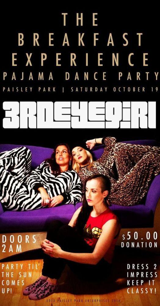Her er invitasjonen til pyjamasfesten. Foto: Twitter