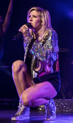 Ellie Goulding. (Foto: Kim Erlandsen, NRK P3)