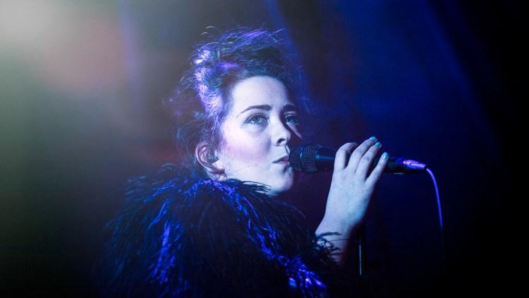 Emilie Nicolas på by:Larm 2014. Foto: Tom Øverlie, NRK P3
