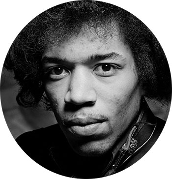 Jimi Hendrix. (Foto: NTB Scanpix, Reuters)
