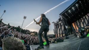 Metallica på Valle Hovin juni 2014. (Foto: Mattis Folkestad, NRK P3)